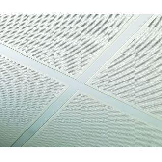 Металлический медицинский потолок Армстронг Board LAY-IN Plain RAL9010 BIOGUARD