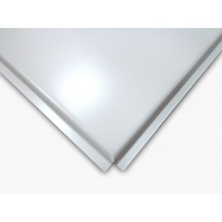 Панель Албес AP600 A6/45°/Т-24-Е белая оцинковка А903 (уп=22 шт)