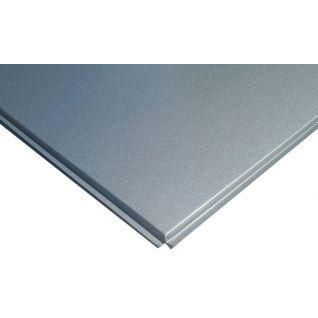 Кассетный потолок алюминиевый AP600A6/45°/Т-24 металлик А907