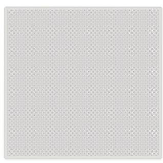 Кассетный потолок алюминиевый AP600A6/45°/Т-24 белый матовый А903 перфорированный