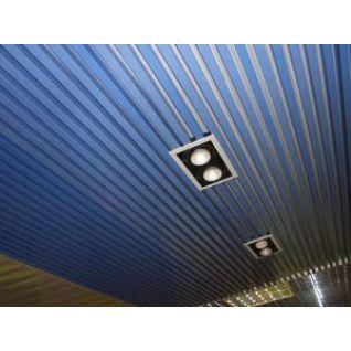 Реечный потолок «Кубообразная рейка» (комплект)