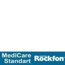 Подвесной потолок Rockfon MediCare Standard (A15/24) 12 мм